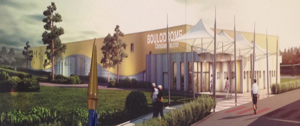 Inauguration boulodrome montlu on for Boulodrome montpellier
