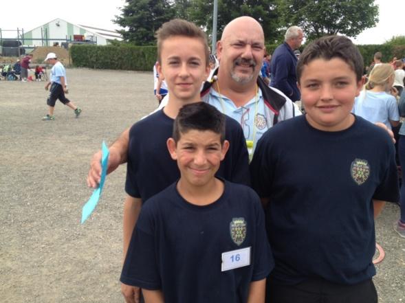 Championnat de Ligue triplette jeune