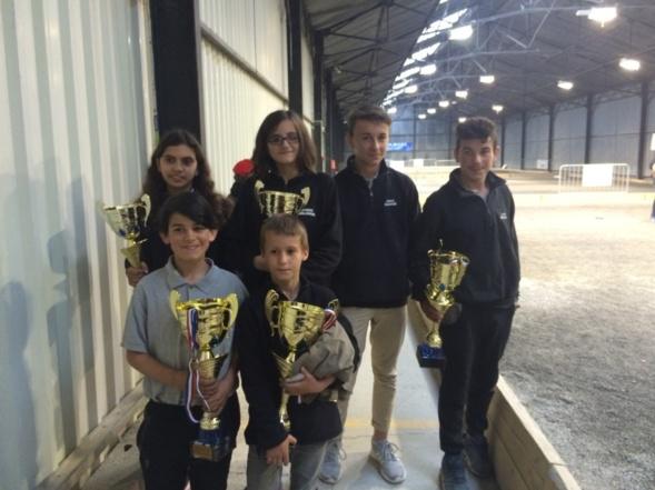 Championnat du cher doublette jeunes