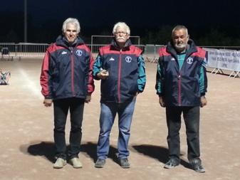 Championnat d'Ille et Vilaine Triplette Vétérans à Liffré