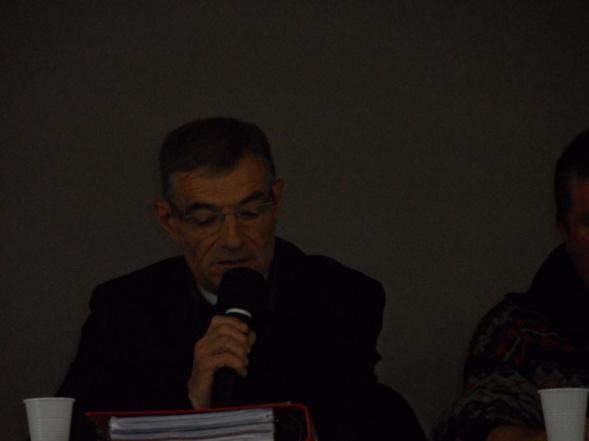 Bernard MELIN, président du comité