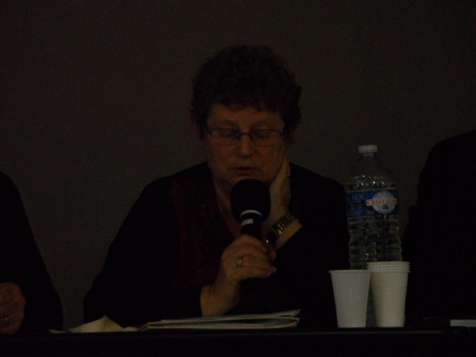 Jacqeuline SWED présidente de la commission sportive