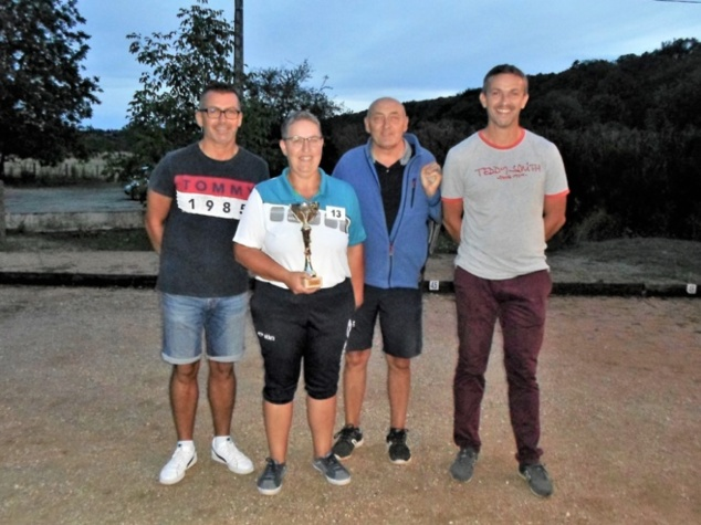 Stéphane, Nadia, Philippe, Guillaume