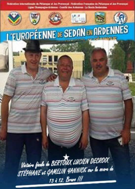 Yannick remporte le national de Sedan