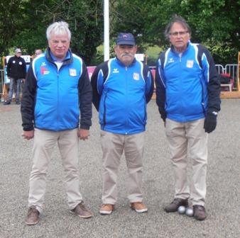Championnat de Ligue Triplettes à Foix les 12 et 13 mai