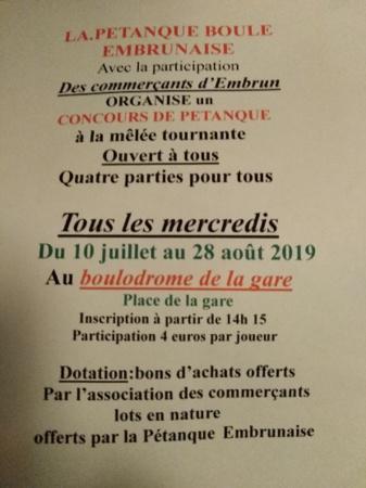 Concours Été 2019