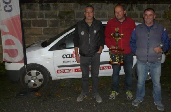 L'équipe homogène récipiendaire du trophée CHATREIX