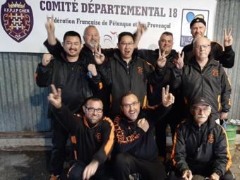La nouvelle équipe en régional de Marmagne