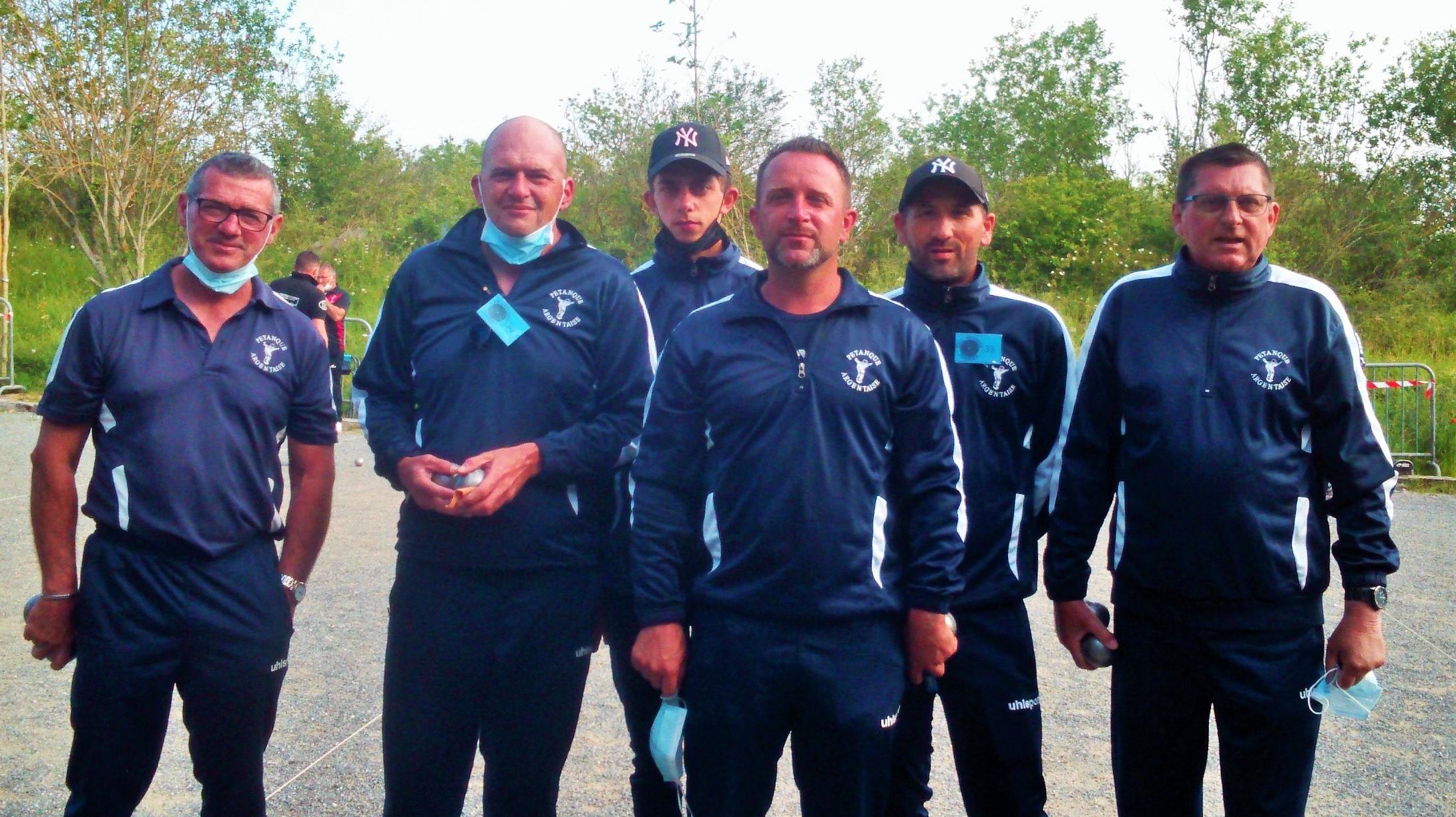 Championnat départemental triplettes la phase finale