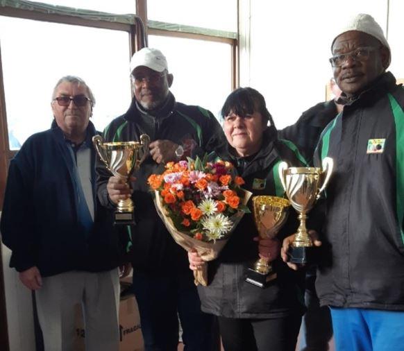 Vice- champions des Yvelines  départemental  triplette mixte au Vésinet