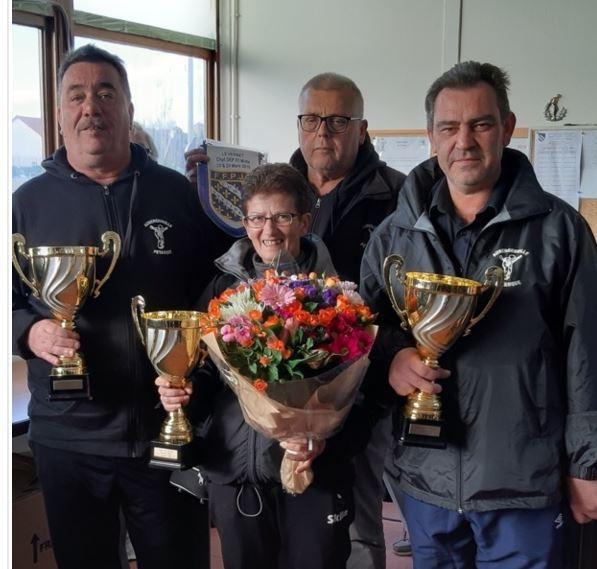 Champions des Yvelines  départemental  triplette mixte au Vésinet