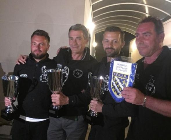 Championnat des Yvelines Triplette provençale à Magnanville    le 20 et 21 Avril 2019