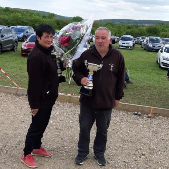 Championnat des Yvelines doublette mixte à Gargenville le 11 et 12 mai 2019