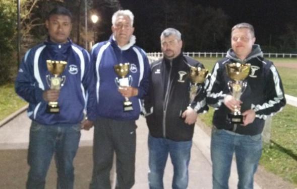 Championnat Départemental Doublette Masculin 2016 (Achères)