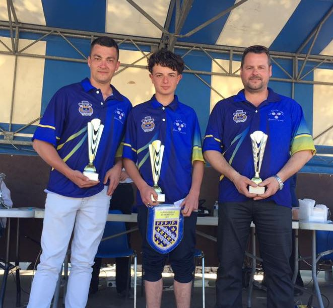 Championnat Départemental Triplette Promotion 2017