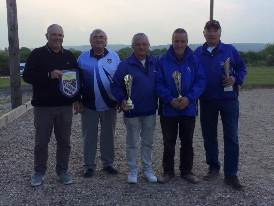 Championnat Départemental Triplette Vétéran 2017