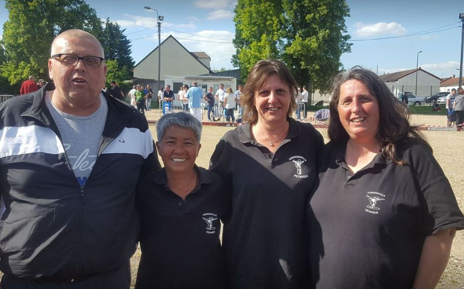 Championnat Départemental Triplette Dame 2017