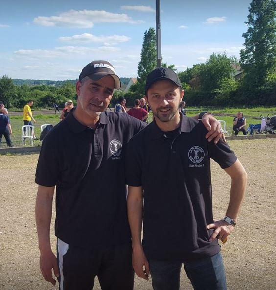 Championnat Départemental Doublette Homme 2017