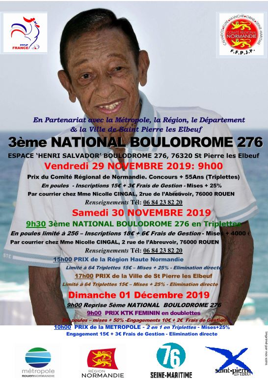 National Boulodrome 76