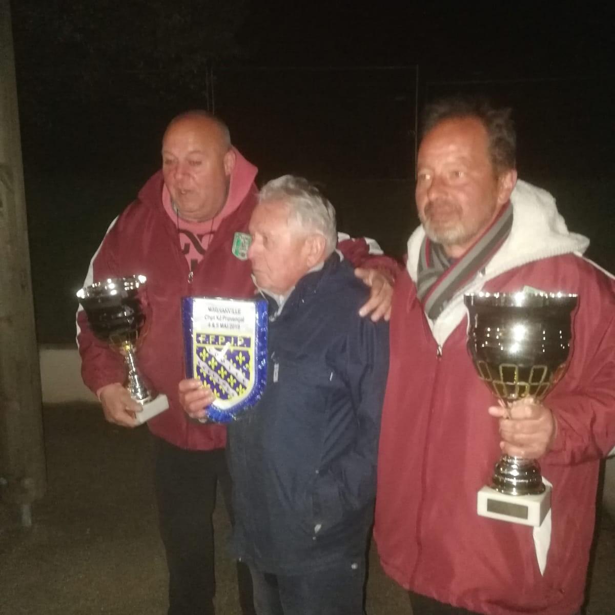 Championnat des Yvelines provençale  doublette seniors  le 04 et 05 mai 2019 à Magnanville
