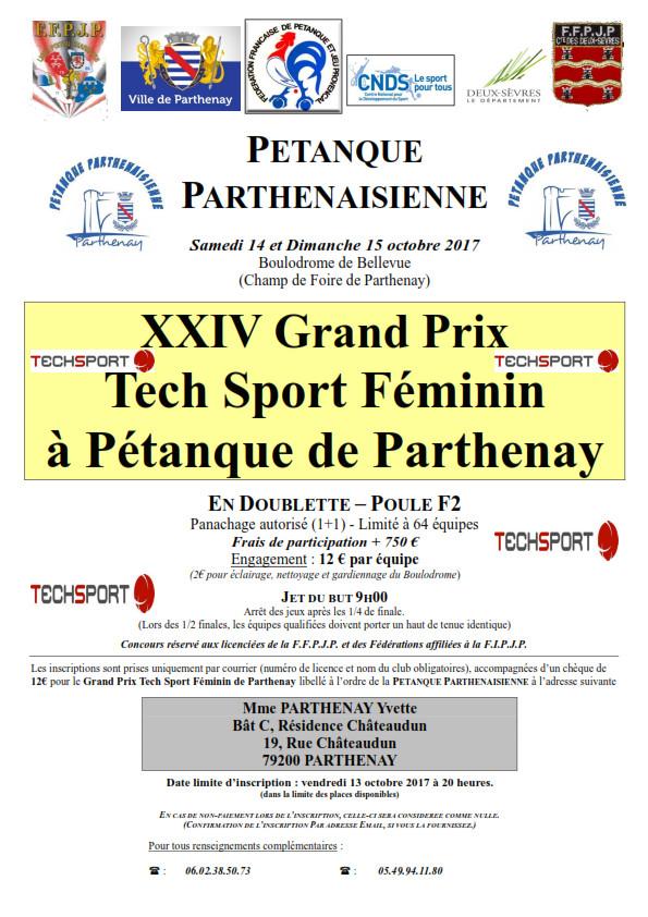 Grand Prix Tech Sport Doublette Féminin