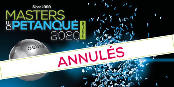 Masters Pétanque 2020