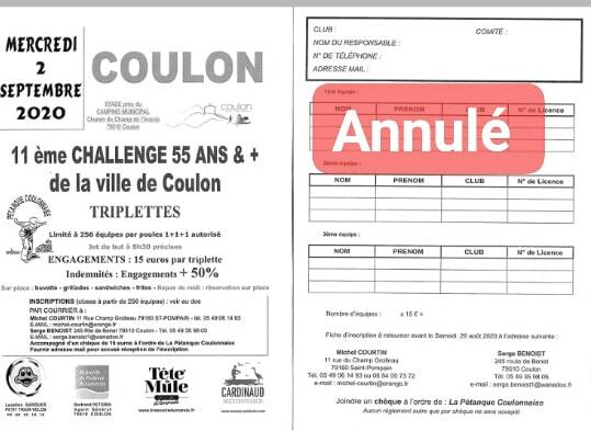 GP Coulon 55 ans et plus