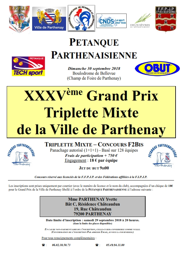 GP Mixte de la Ville de Parthenay