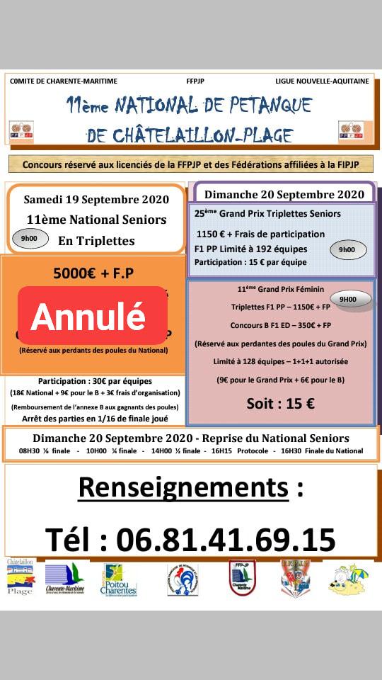 National de Châtelaillon-Plage