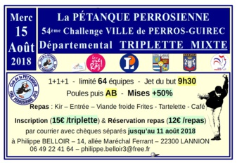 Concours 15/8/18