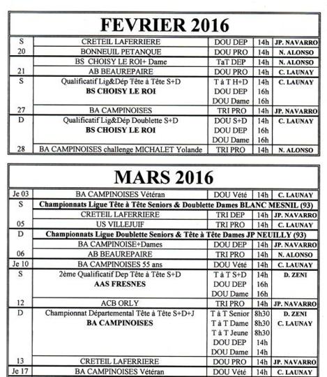CONCOURS FFP-JP FEVRIER-MARS
