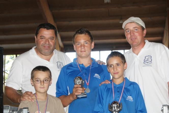 Les finalistes du concours jeunes