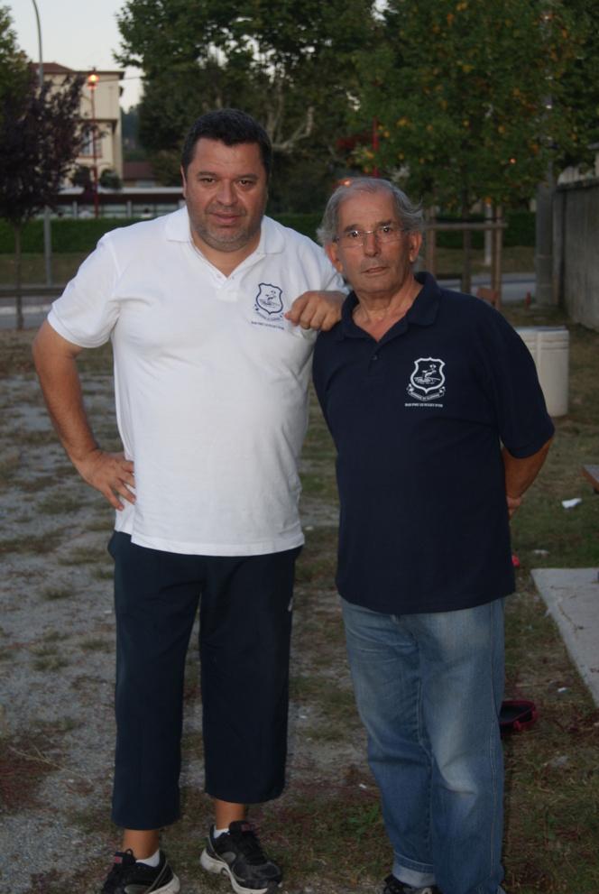 Ph. QUINTAIS et Jérôme BARBOSA (rencontre de deux portuguais, n'est-ce pas jérôme ?)