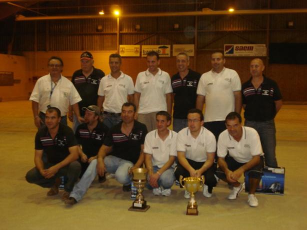 Les finalistes de la Coupe d'Allier 2009