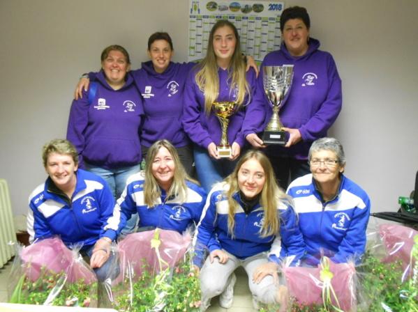 1ere Coupe des Clubs Féminines : Le Cochonnet Bressolois s'impose devant les Marais Montluçon