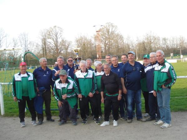 9ème Vétérans en Clubs : l'AS Roanne Force 4