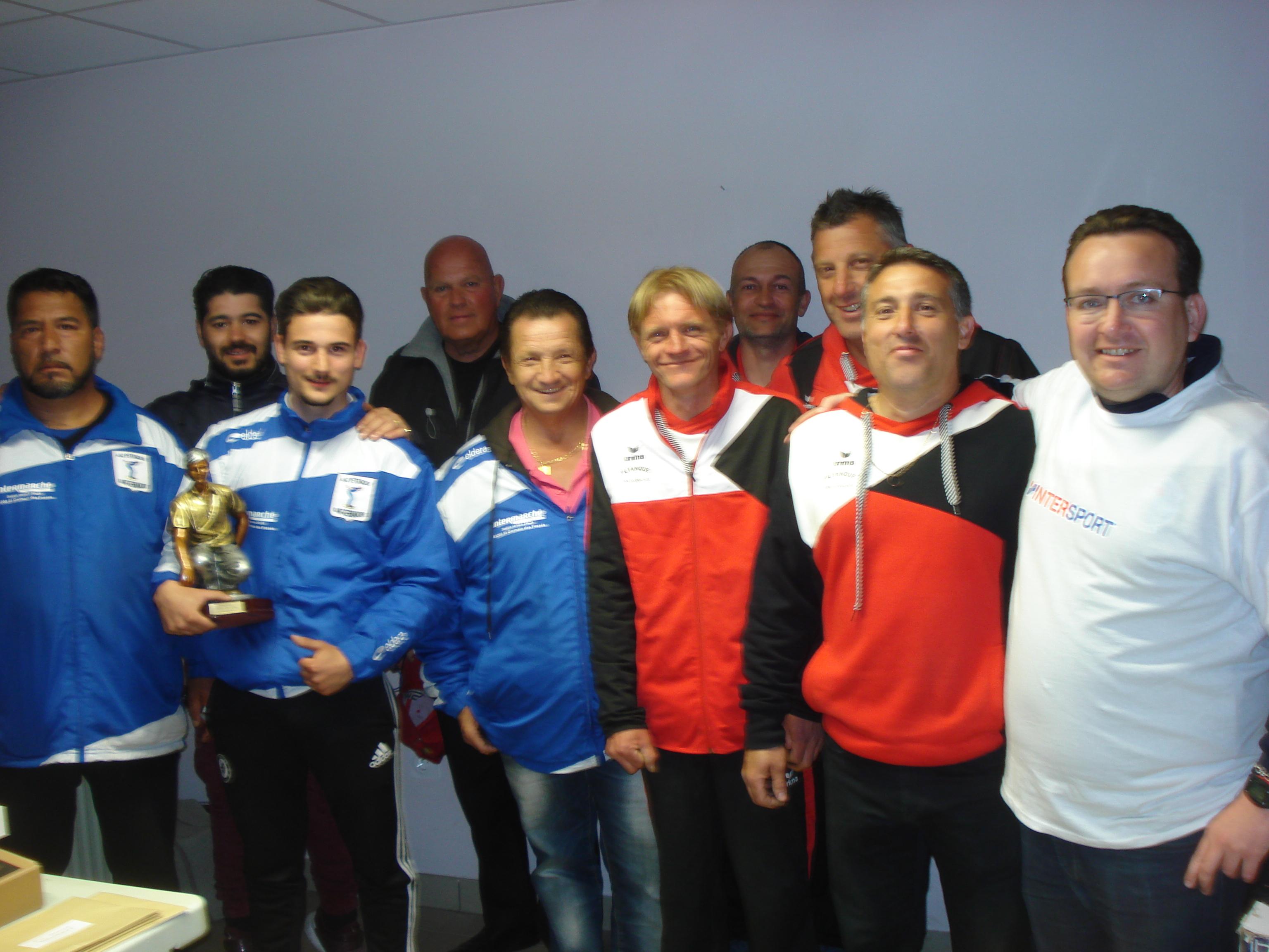 La Pétanque St Germanoise remporte le 2ème trophée des Clubs et le Cochonnet Bressollois la 1ere Coupe des Clubs Féminines