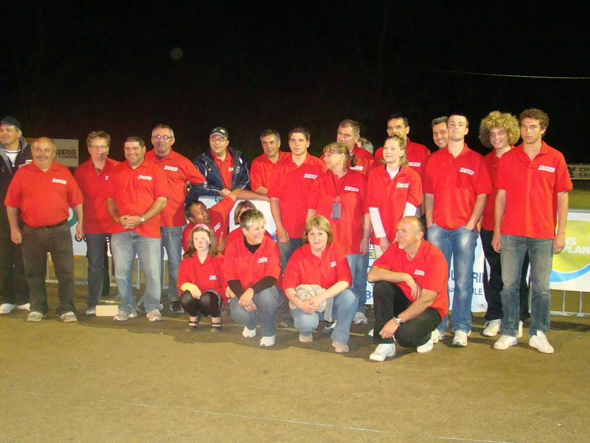 2eme REGIONAL A PETANQUE LE 1ER MAI 2011