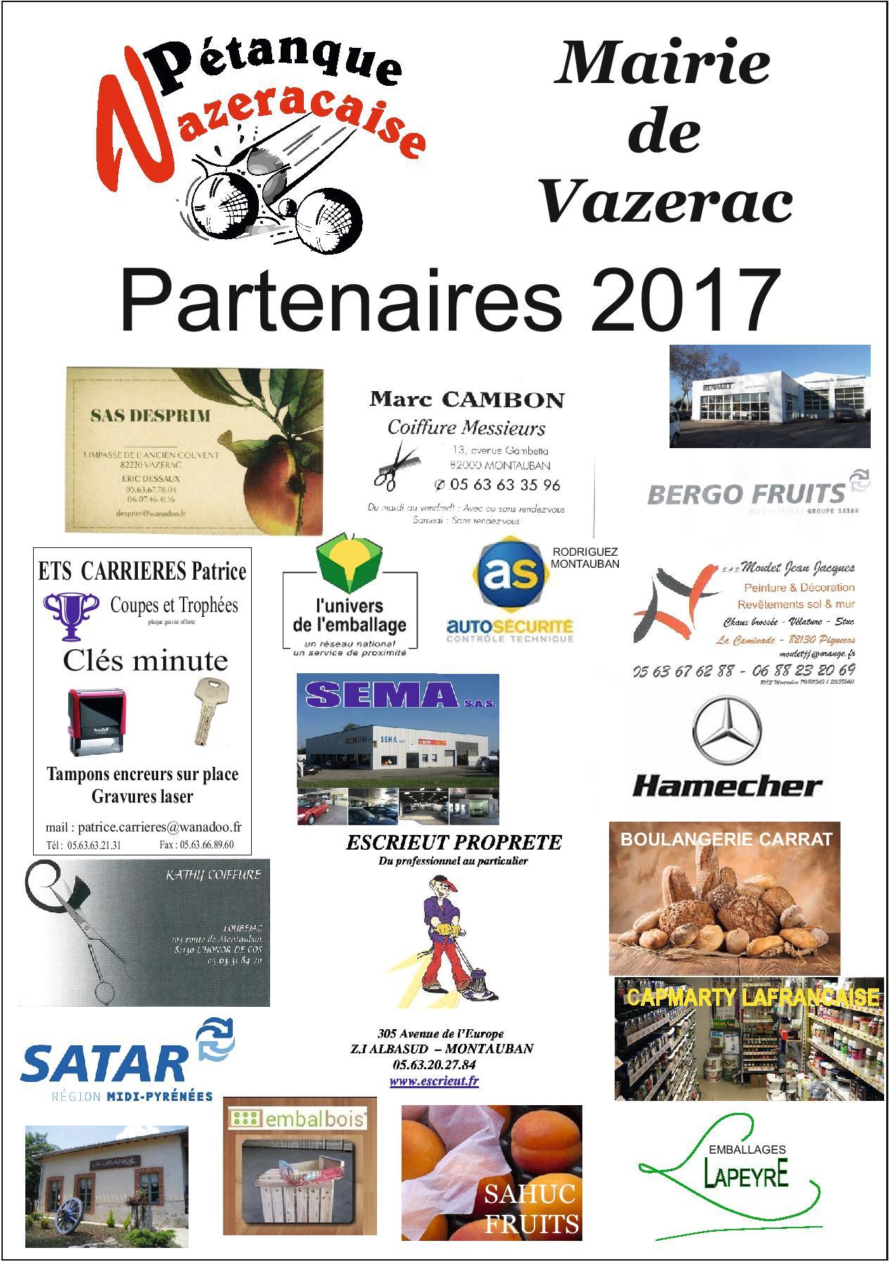 Partenaires 2017.