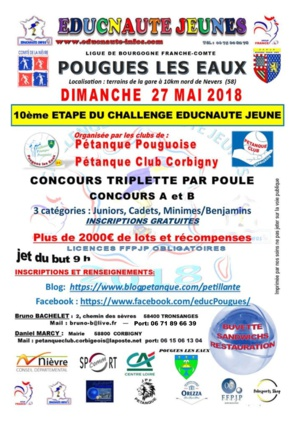 POINT SUR ENGAGEMENT EDUCNAUTE AU 26 MAI