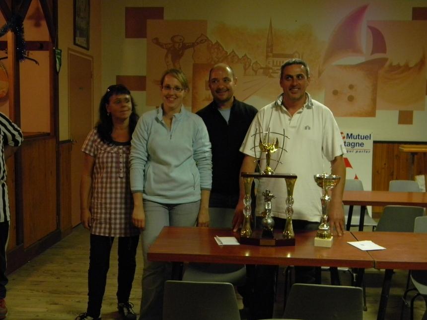 Finaliste : Chantal et James contre Julie et Jean-Sébastien.