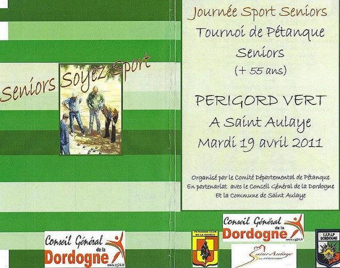 Challenge Seniors Soyez Sport.