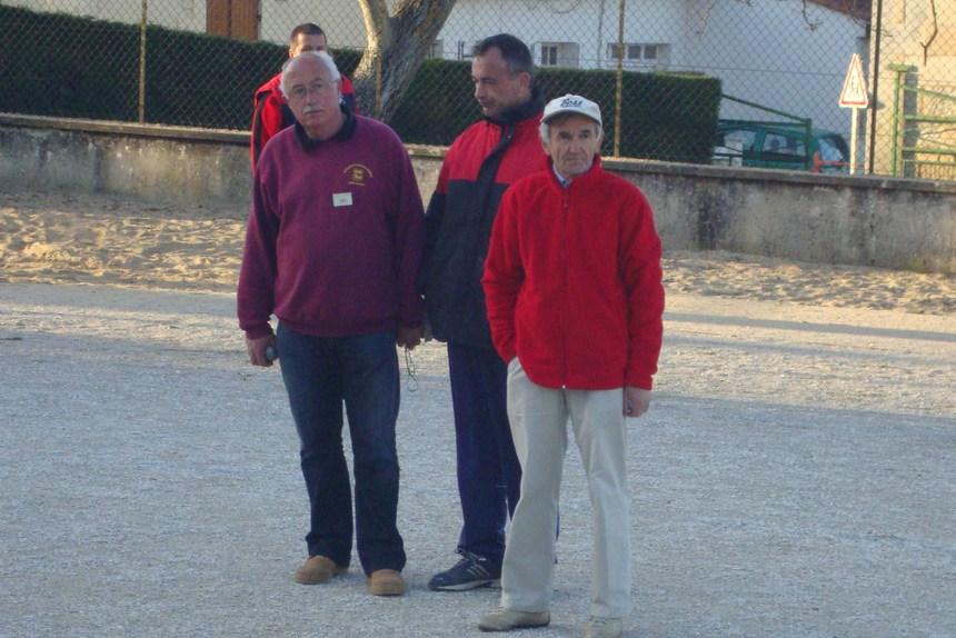 Championnat de Dordogne triplettes Promotion.