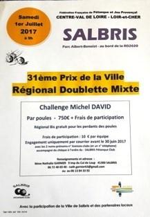 REGIONAL DOUBLETTE MIXTE 01 JUILLET 2017