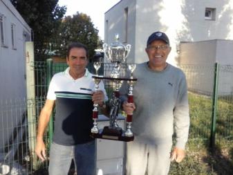 Pierre et Claude les vainqueurs