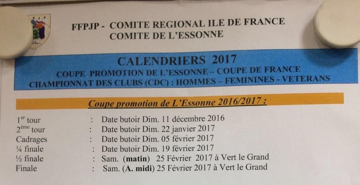 Coupe de l'Essonne - 1er tour