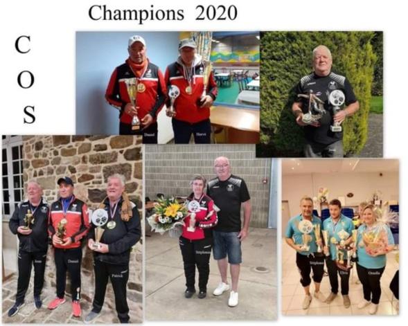 les champions 2020 du club de SOURDEVAL