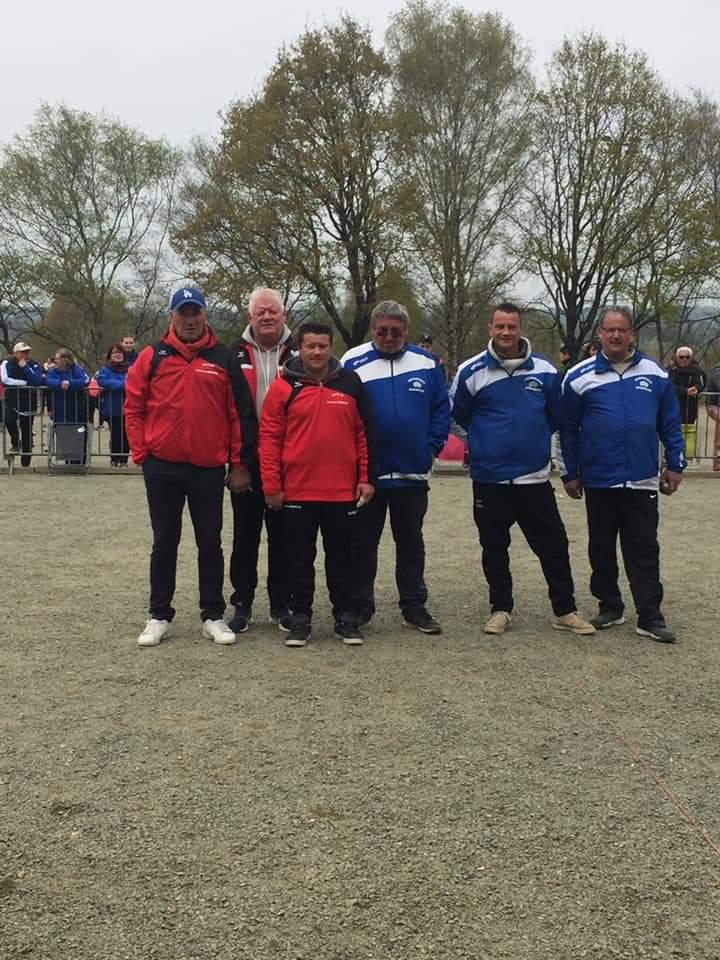 championnat triplette séniors à AVRANCHES les 13 et 14 avril 2019