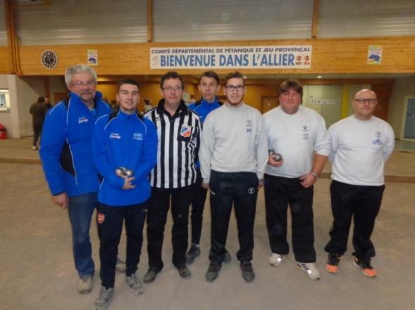 Anthony  Moulin  et  Anthony  Hernandez Vice Champions Provençal