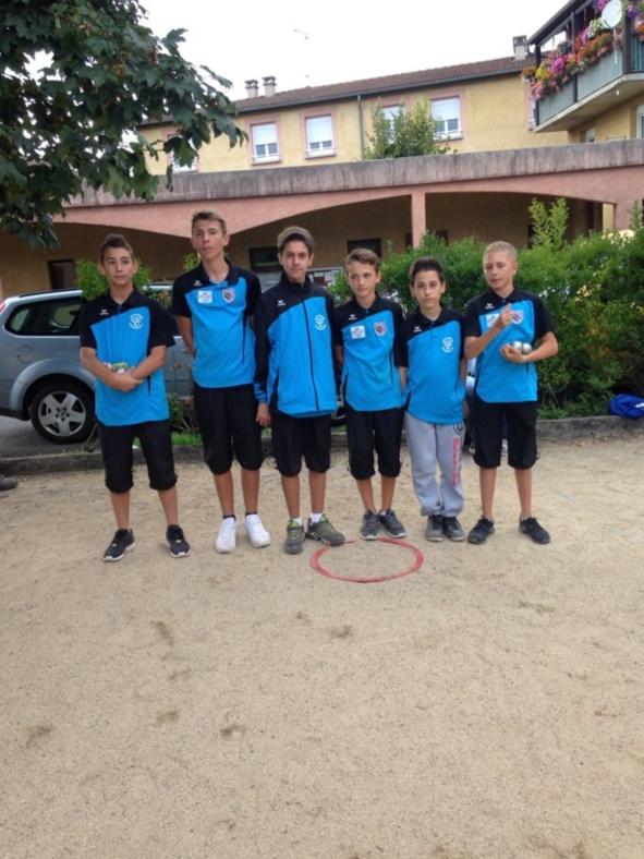 Régional  Jeunes  Triplettes  d'Arvant (éducnaute )